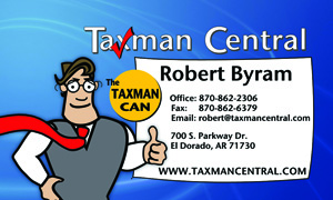 Taxman Central Business Card