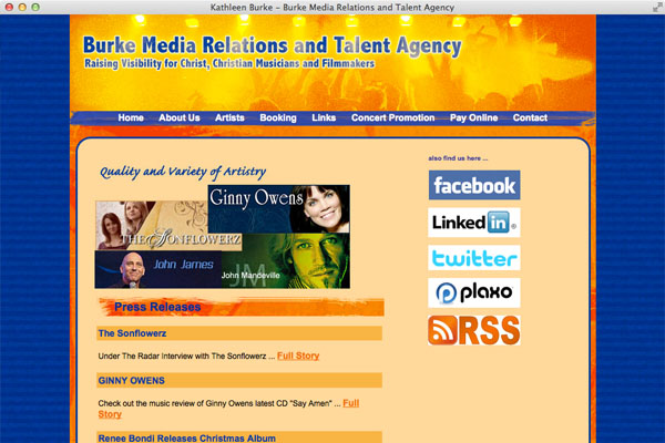 Burke Media Relations and Talent Agency