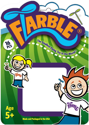 Flarble Product Blister Pack