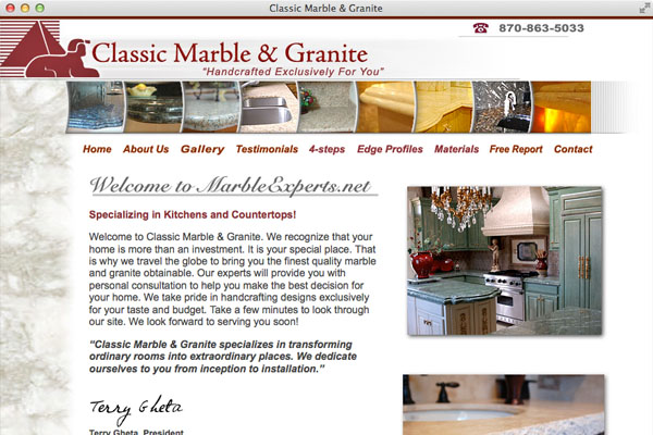 Classic Marble and Granite