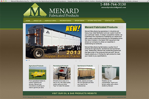 Menard Fabricated Products