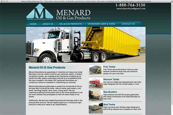 Menard Oil & Gas Products