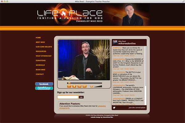 Mike Reed and Life Place Ministries