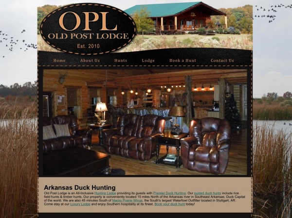 Old Post Duck Lodge