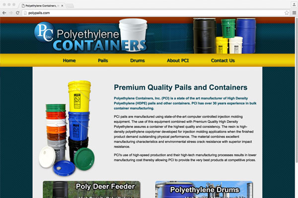 Poly Ethylene Containers