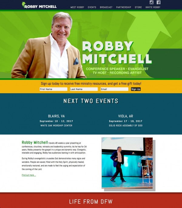 Robby Mitchell Ministries