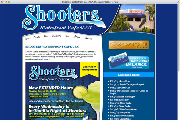 Shooter's Waterfront Cafe