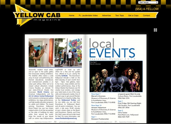 Yellow Cab Magazine